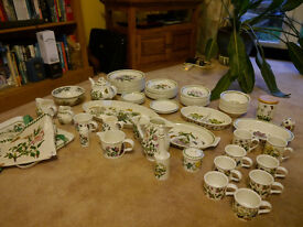Portmeirion Boatnic Garden Crockery - Very Large Set - 68 items!