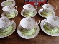 Royal Albert bone china tea set 4364