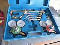 brand new never used gas welding and cutting kit