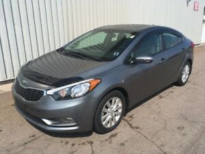 2014 Kia Forte 1.8L LX+ LOW KMs | FACTORY WARRANTY | SUNROOF...