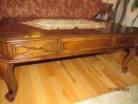 belle table / beautiful coffee table