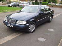 1995 Mercedes C220 Petrol Automatic.
