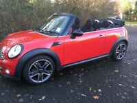 2011 Mini Cooper 1.6 Convertible - Chili Pack, 38k miles, Automatic, 2 owners