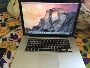 """APPLE MACBOOK PRO 15""""  SILVER LAPTOP MODEL:  A1280  YEAR- 2011 Balga Stirling Area Preview"""