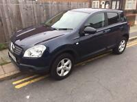 2008 57reg Nissan Qashqai Visia DCI 2wd Blue Cheapest Around