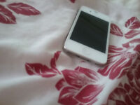 Iphone 4 s white with docking station