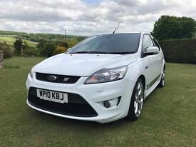 Ford Focus ST-3 white 2010 Mint Condition12 months MOT 1 previous owner
