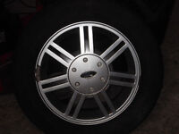 ford alloy wheel to fit ka/fiesta