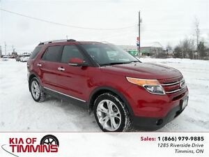 2013 Ford Explorer Limited NAVIGATION LEATHER SUNROOF