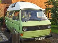 VW T25 Camper Van Rare Automatic