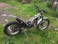 Gas gas 280 trials bike 2012