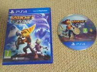 PS4 game: Rachet and Clank