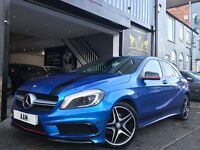2014 Mercedes-Benz A Class 1.5 A180 CDI AMG Sport 5dr A45 REP AERO PACK CONVERSION!!
