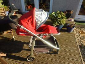 Uppababy Cruz Stroller & Carrycot plus accessories