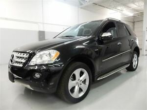 2009 Mercedes-Benz M-Class ML320  -- BLUETEC DIESEL -- BLACK ON