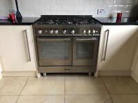 BAUMATIC 90cm STAINLESS STEEL GAS RANGE COOKER