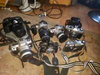 Joblot 7 vintage camera Minolta and other