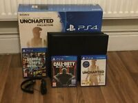 Playstation 4 (500GB) Uncharted: The Nathan Drake Collection