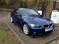 Low MILEAGE BMW FOR SALE CHEAP QUICK SALE CONVERTIBLE BLUE( not diesel) Petrol 320i