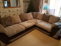 corner sofa with pull out double bed