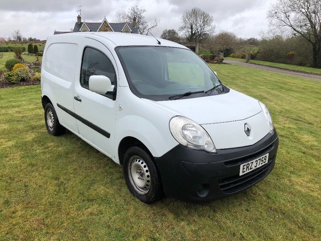 2010 RENAULT KANGOO VAN 1.5DCI MANUAL WHITE **LOVELY VAN** WELL MAINTAINED