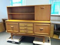 A Mid Century retro teak sideboard made by William Lawrence