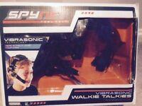 Spynet Walkie Talkie Set