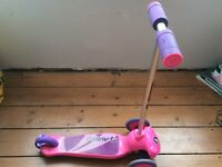 Avigo scooter pink & purple from 3 years