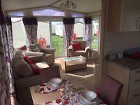 Stunning 2 bed Pemberton Abingdon static caravan on North Norfolk coast