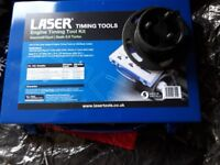 saab/vauxhall timing tool and water pump tool