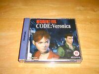Dreamcast - Resident Evil Code : Veronica