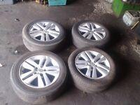 Vauxhall astra h MK5 16inch 5 x110 corsa combo vectra Alloy Wheels