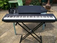 YAMAHA P105 DIGITAL KEYBOARD - EXCELLENT CONDITION - UNUSED, SO NEEDS NEW OWNER