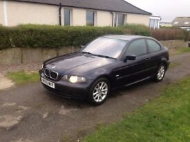 BMW 316 +i.. ES... COMPACT TOP OF THE RANGE. FSH. 7 MONTHS MOT, LOW MILES.