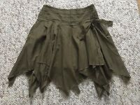 Peter Worth Woman Khaki Mini Skirt Uk Size 8, Paypal accept