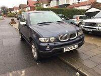 BMW X5 with navigation, TV, service history