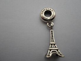 New Genuine Pandora Charm Eiffel Tower