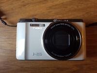 Casio Exilim EX-ZR1200 16.1 Megapixel 5-AXIS Anti-Shake Digital Camera (White)