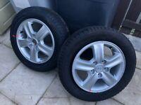 hyundai i30 aluminium wheels and tyres
