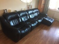 Leather sofa , really comfy and great condition