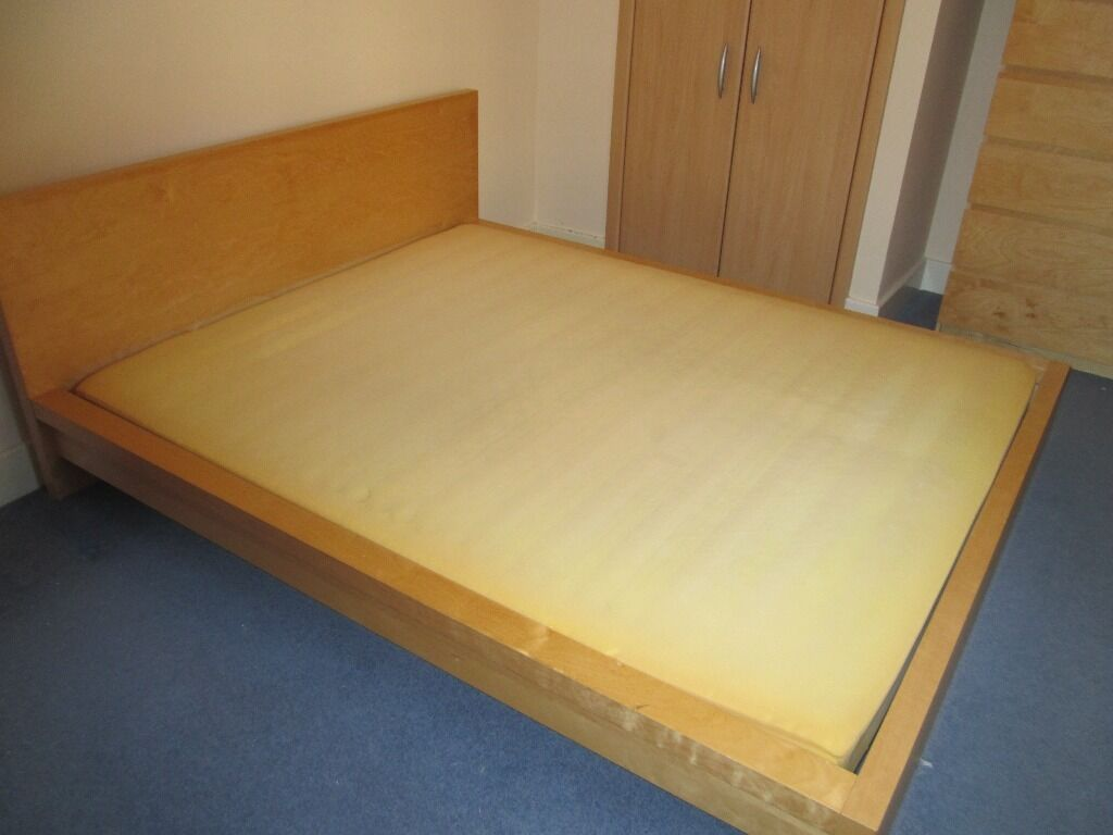 Ikea dokka continental king size purchase sale and for Ikea king size bed frame