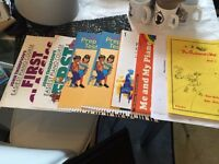 kids/ adults learn piano books + 1 guitar book for sale in Cardiff