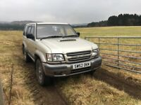 Isuzu Trooper Citation 3.1 Diesel (conversion) LWB 7 seater MOT until June 2018