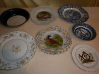 House Clearance. Antique plates & platters