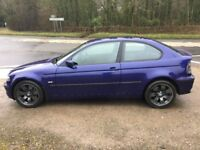 BMW M54 3.0 Compact track day car - start life as very nice 325ti - Relisted due to ebay timewaster
