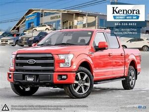 2015 Ford F-150 Lariat FX4 4x4 Crew Cab *One Owner, Accident Fre