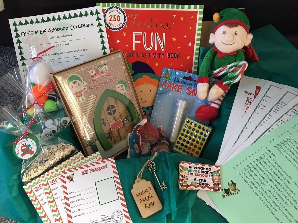Magic Elf Kit plus props