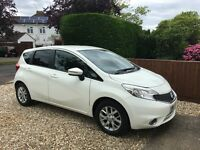 2014 Nissan Note Acenta Premium dCi - excellent condition!