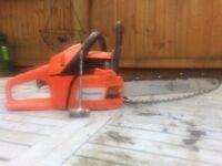 Husqvarna 240 x torn chainsaw