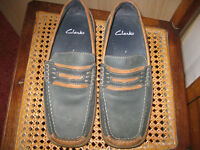 VERY SMART suede and leather CLARK MEN'S MOCCASINS